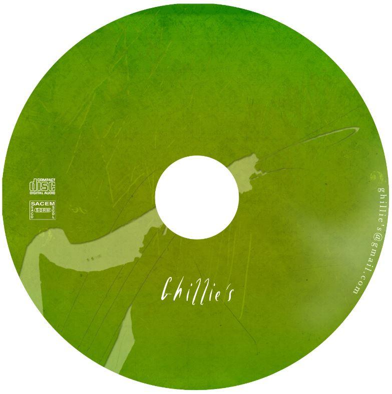 CD album 2013 Ghillie's Irish and Folk music