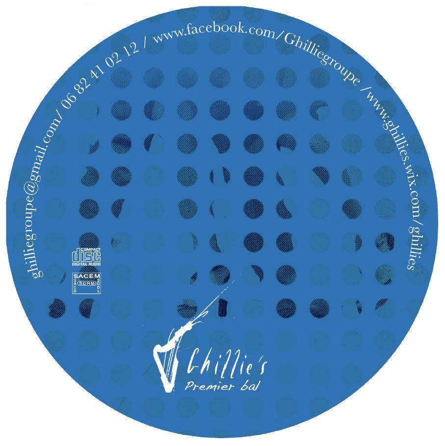 CD album 2015 Ghillie's Irish and Folk music