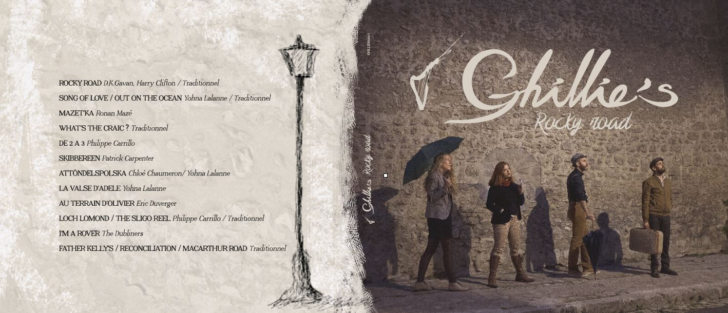 Album Ghillie's Irish and Folk music 2020