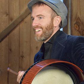Eric Duverger percussions Ghillie's Irish and Folk music