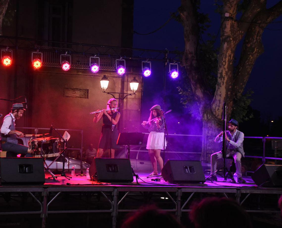 Concert Ghillie's Irish and Folk music Nuit celtique ©LG