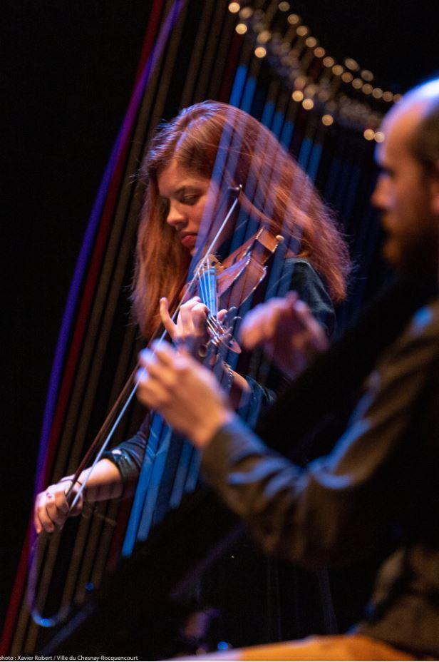 Concert Ghillie's Irish and Folk music crédit photo: Xavier Robert - Ville du Chesnay-Rocquencourt
