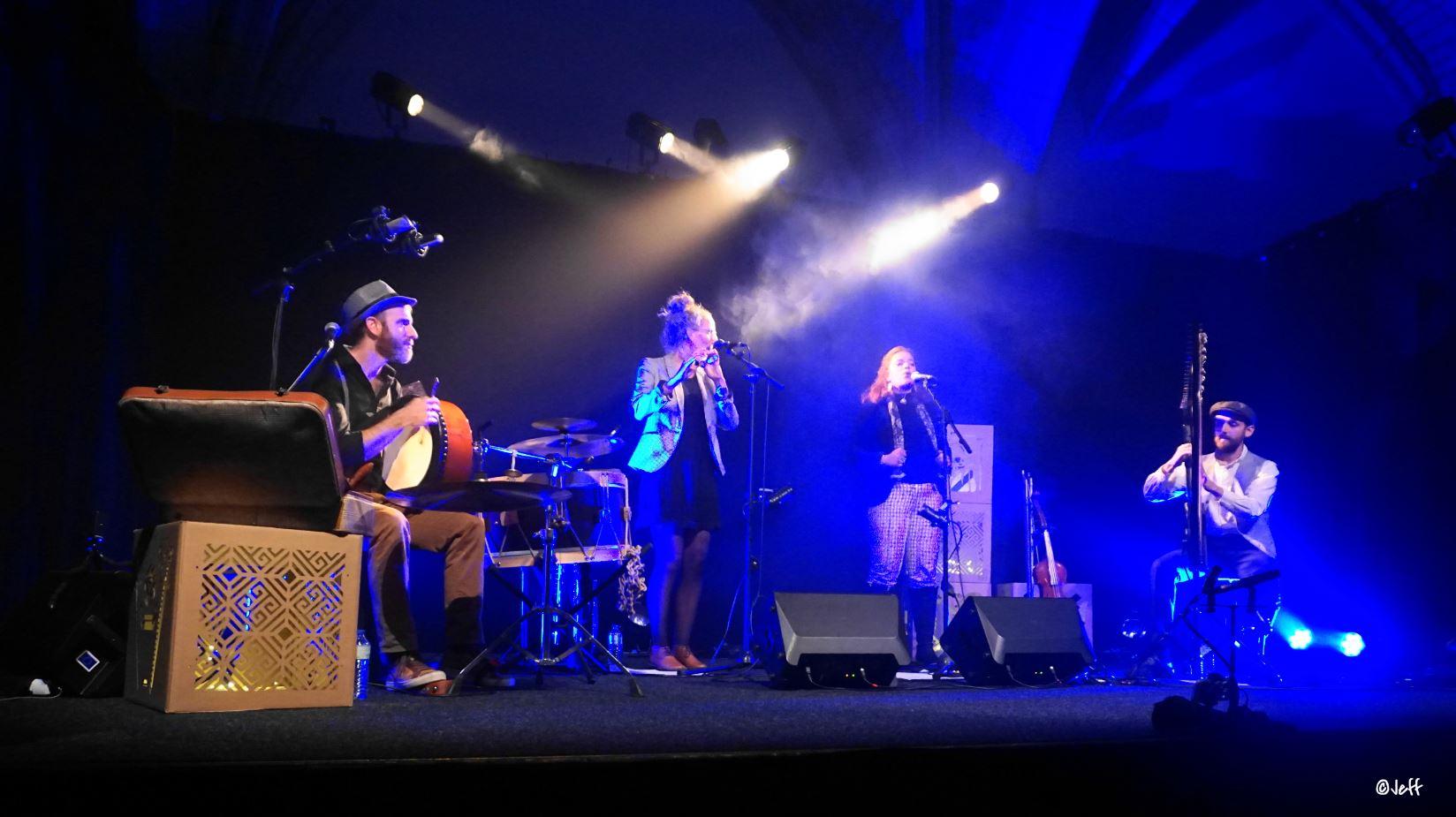 Sortie d'album Ghillie's Irish and Folk music Crédit photo Jeff le poulpe