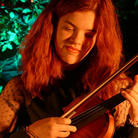Yohna Lalanne Fiddle and vocals